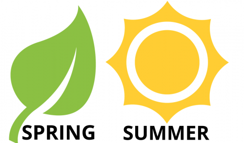 Peak season: spring and summer